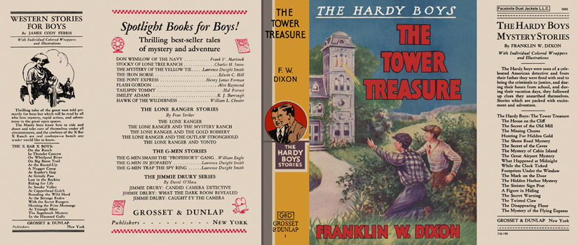 Hardy Boys #01: Tower Treasure, The. Franklin W. Dixon