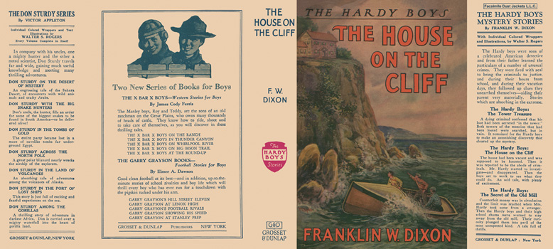 Hardy Boys #02: House on the Cliff, The. Franklin W. Dixon