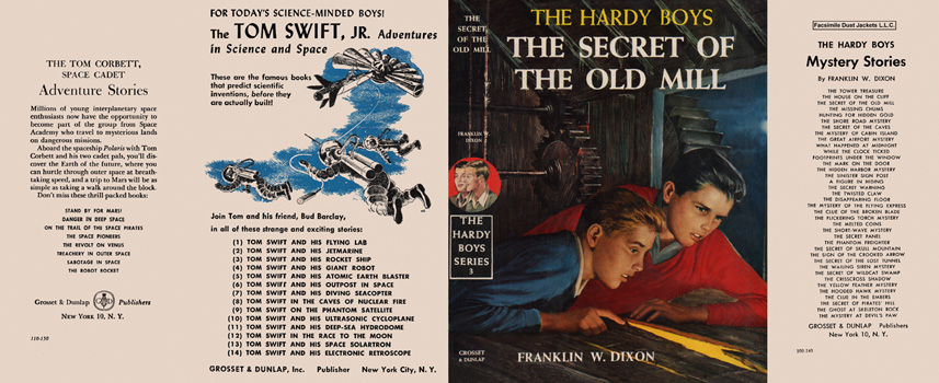 Hardy Boys #03: Secret of the Old Mill, The. Franklin W. Dixon