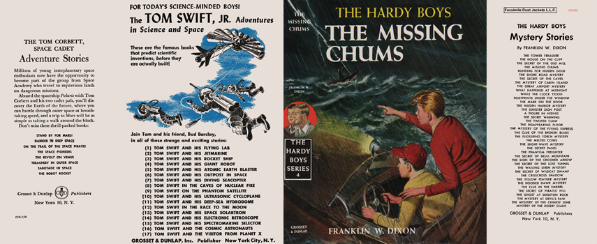 Hardy Boys #04: Missing Chums, The. Franklin W. Dixon