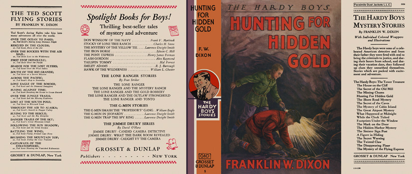 Hardy Boys #05: Hunting for Hidden Gold. Franklin W. Dixon.