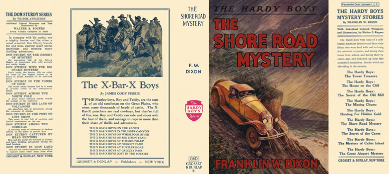 Hardy Boys #06: Shore Road Mystery, The. Franklin W. Dixon
