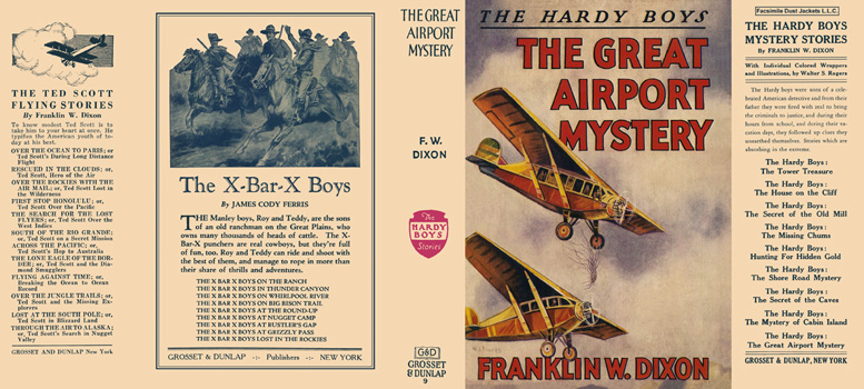 Hardy Boys #09: Great Airport Mystery, The. Franklin W. Dixon.