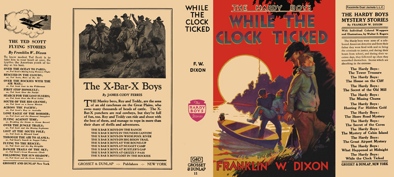 Hardy Boys #11: While the Clock Ticked. Franklin W. Dixon.