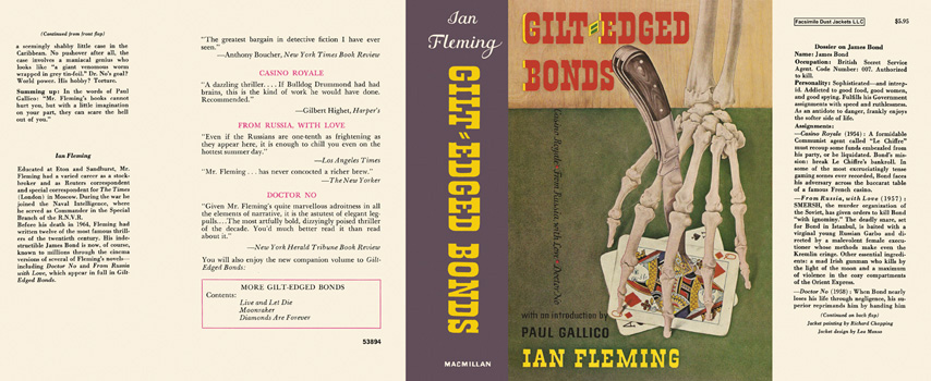 Gilt-Edged Bonds. Ian Fleming.