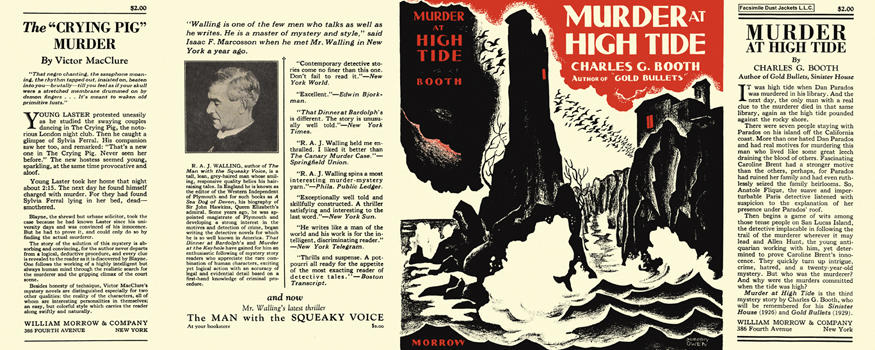 Murder at High Tide. Charles G. Booth.
