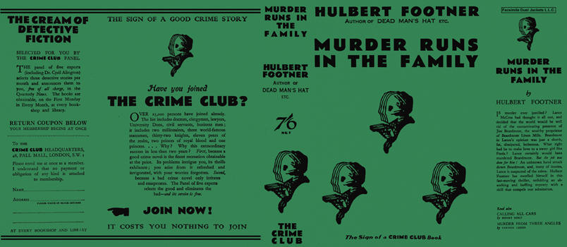 Murder Runs in the Family. Hulbert Footner