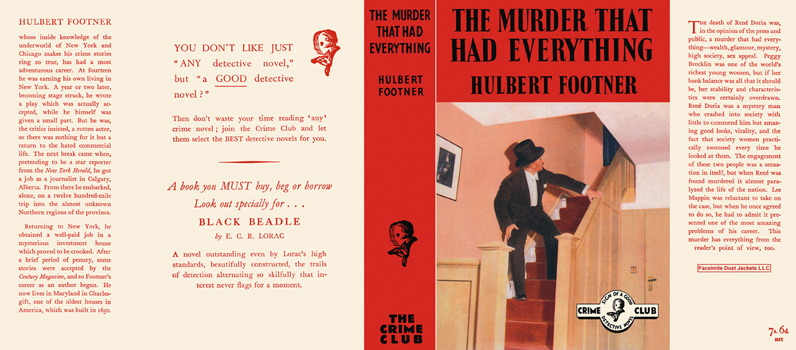 Murder That Had Everything, The. Hulbert Footner.