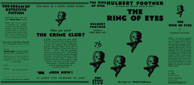 Ring of Eyes, The. Hulbert Footner