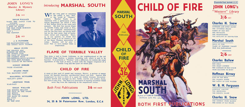 Child of Fire. Marshal South