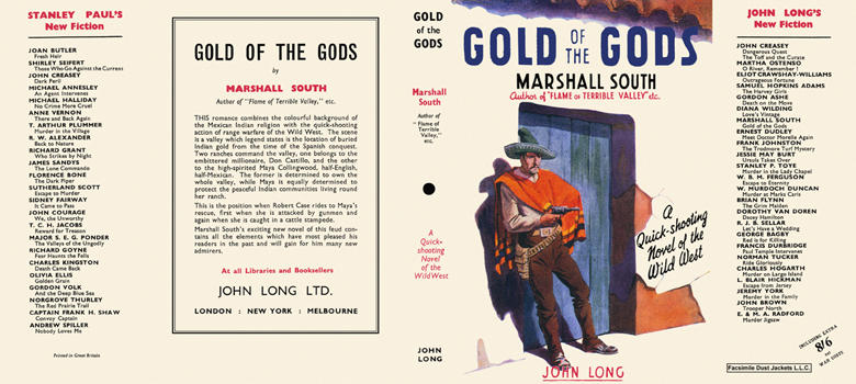 Gold of the Gods. Marshal South.