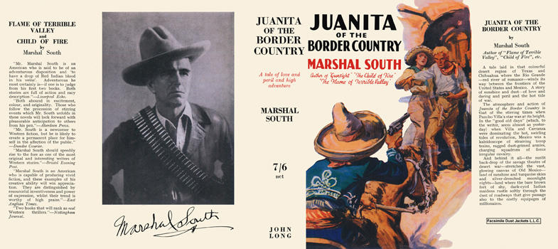Juanita of the Border Country. Marshal South.