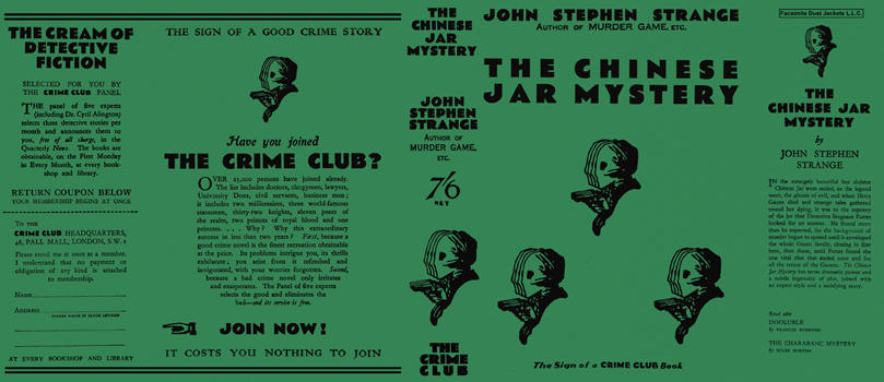 Chinese Jar Mystery, The. John Stephen Strange