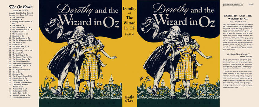 Dorothy and the Wizard of Oz. L. Frank Baum.