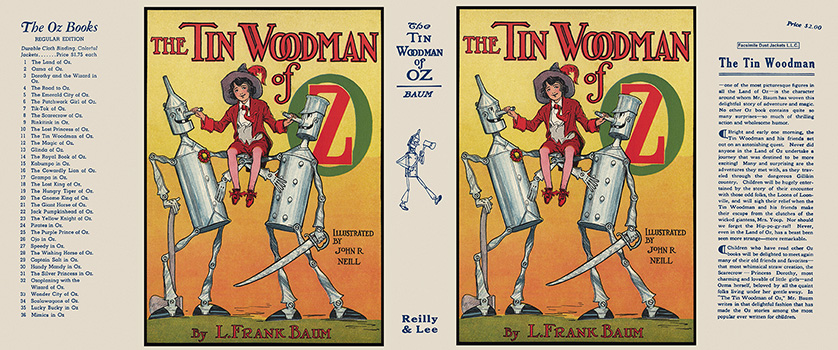 Tin Woodman of Oz, The. L. Frank Baum, John R. Neill