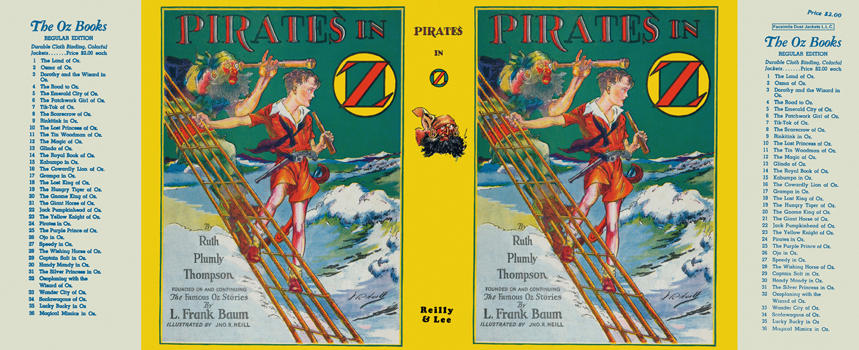 Pirates in Oz. Ruth Plumly Thompson.