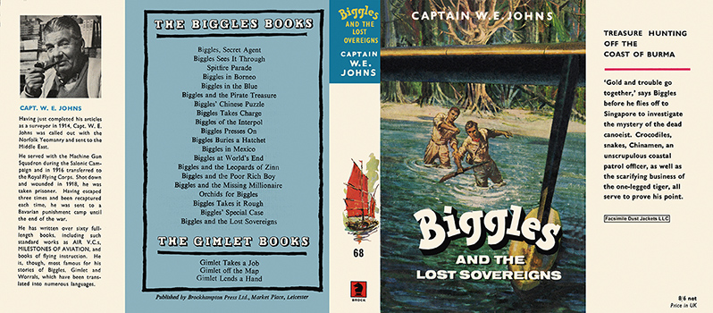 Biggles and the Lost Sovereigns. Captain W. E. Johns
