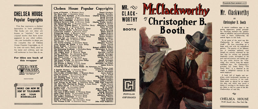 Mr. Clackworthy. Christopher B. Booth.