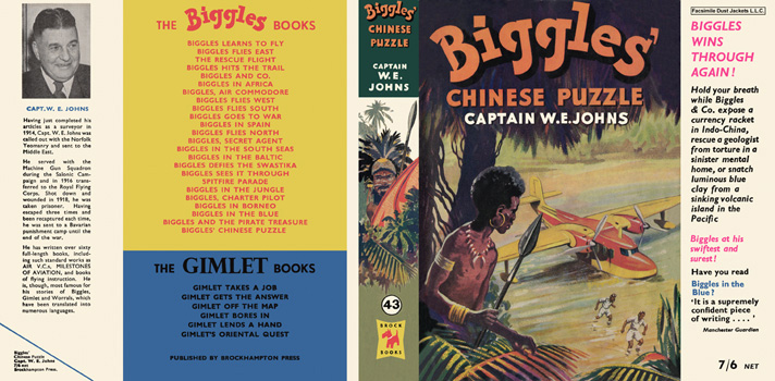 Biggles' Chinese Puzzle. Captain W. E. Johns.