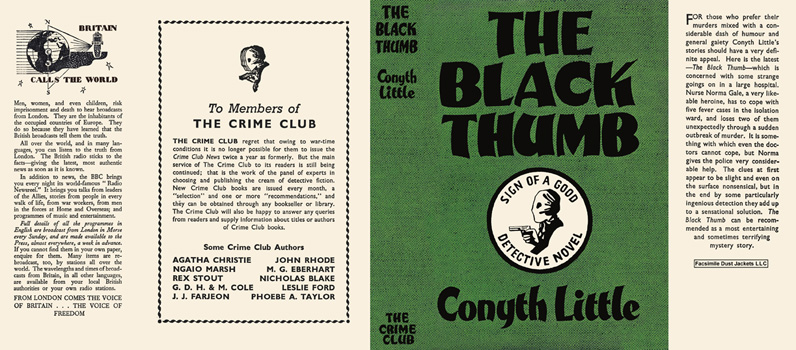 Black Thumb, The. Conyth Little.