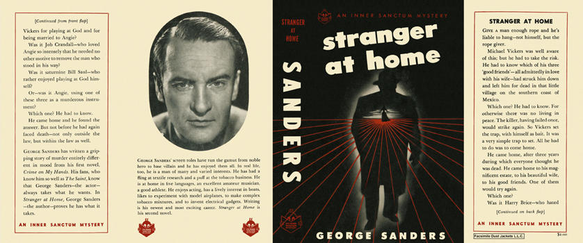 Stranger at Home. George Sanders