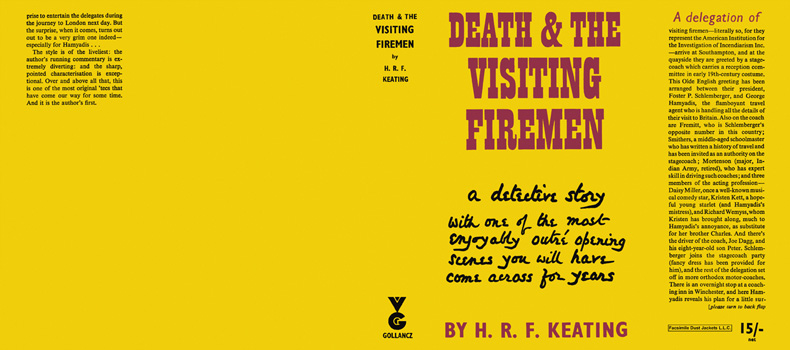 Death and the Visiting Firemen. H. R. F. Keating.