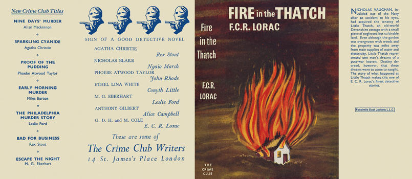 Fire in the Thatch. E. C. R. Lorac.