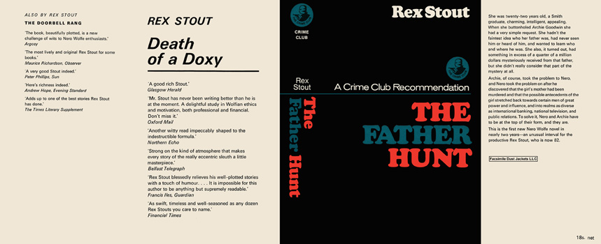 Father Hunt, The. Rex Stout