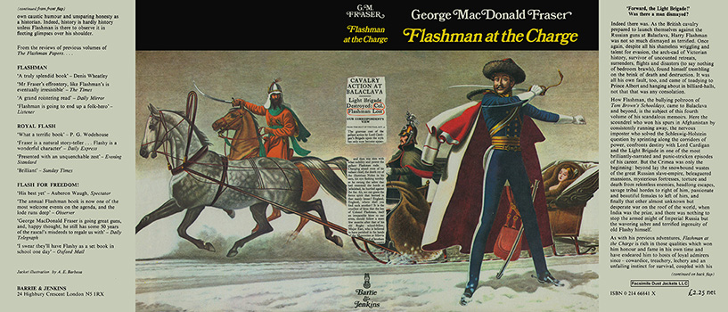 Flashman at the Charge. George MacDonald Fraser