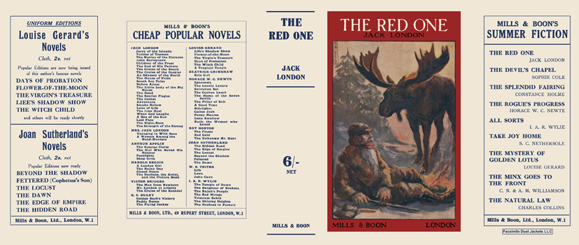 Red One, The. Jack London