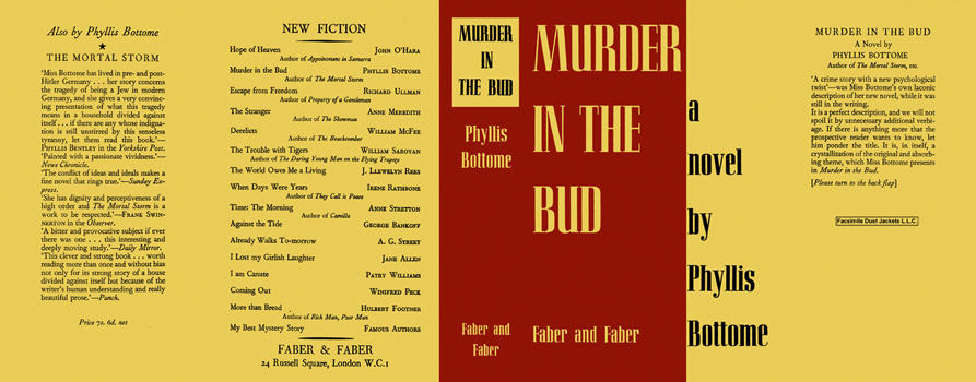 Murder in the Bud. Phyllis Bottome.