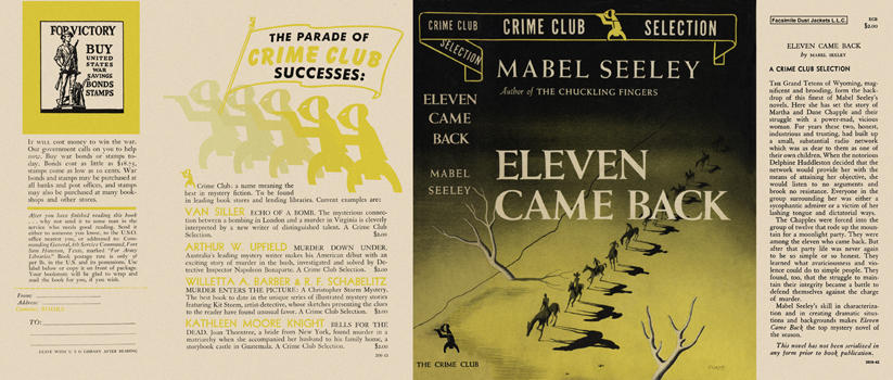 Eleven Came Back. Mabel Seeley