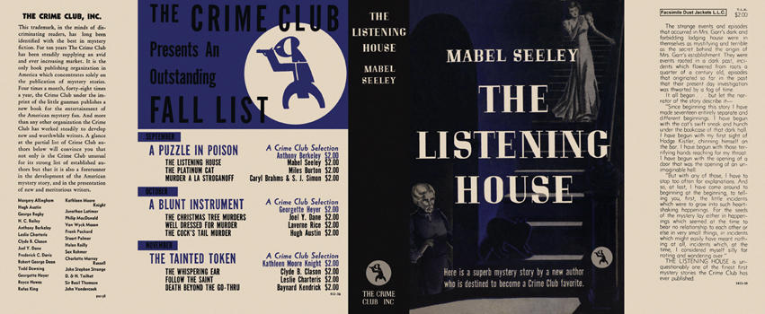 Listening House, The. Mabel Seeley