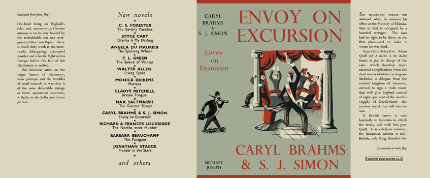 Envoy on Excursion. Caryl Brahms, S. J. Simon