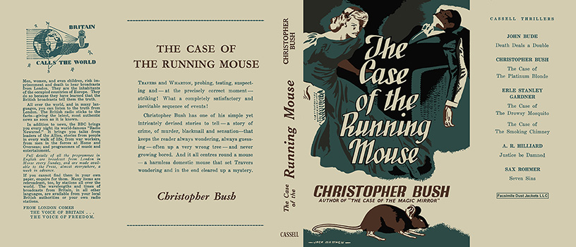 Case of the Running Mouse, The. Christopher Bush