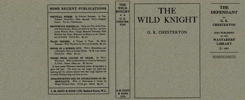 Wild Knight, The. G. K. Chesterton.