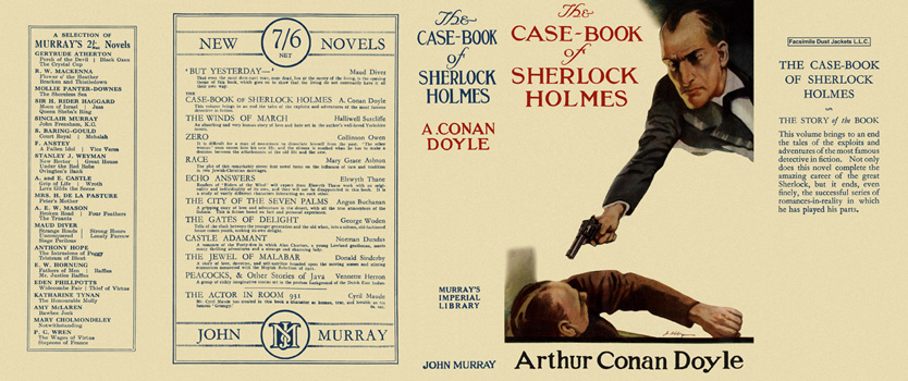 Case-Book of Sherlock Holmes, The. Sir Arthur Conan Doyle
