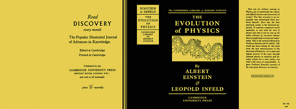Evolution of Physics, The. Albert Einstein, Leopold Infeld