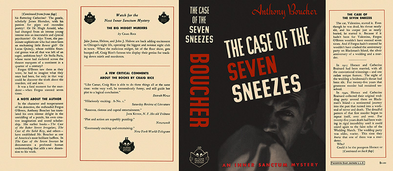 Case of the Seven Sneezes, The. Anthony Boucher.