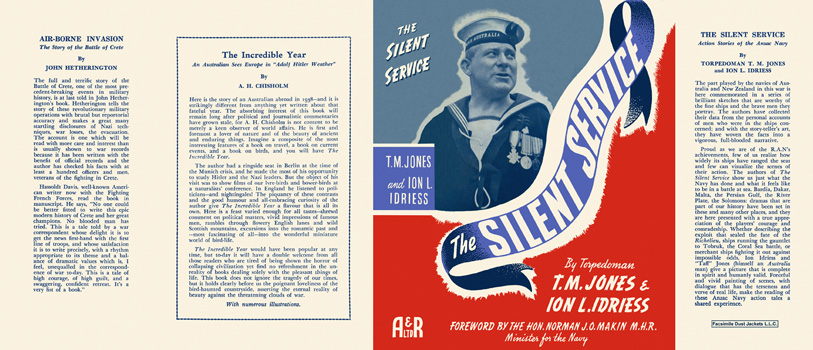 Silent Service, The. T. M. Jones, Ion L. Idriess