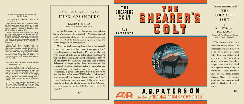 Shearer's Colt, The. A. B. Paterson.