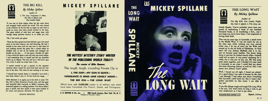Long Wait, The. Mickey Spillane.