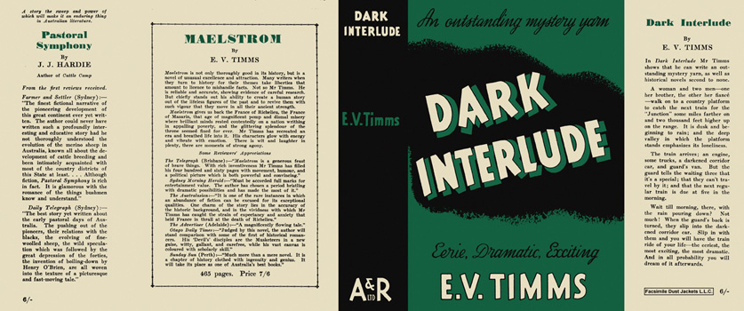 Dark Interlude. E. V. Timms.