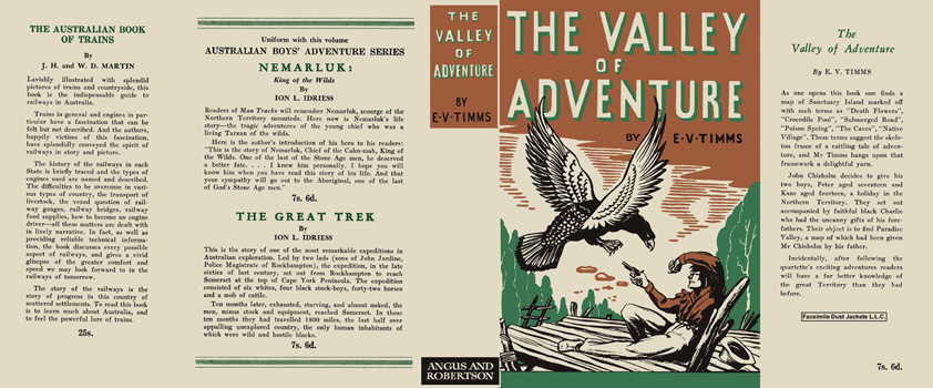 Valley of Adventure, The. E. V. Timms