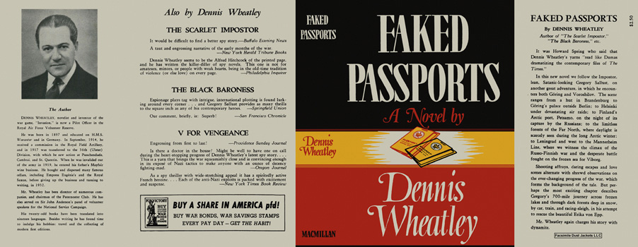 Faked Passports. Dennis Wheatley