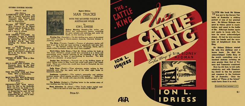 Cattle King, The. Ion L. Idriess