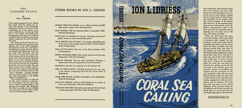 Coral Sea Calling. Ion L. Idriess.