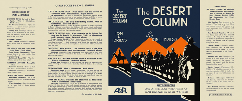 Desert Column, The. Ion L. Idriess