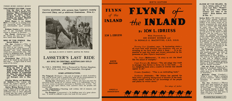 Flynn of the Inland. Ion L. Idriess.