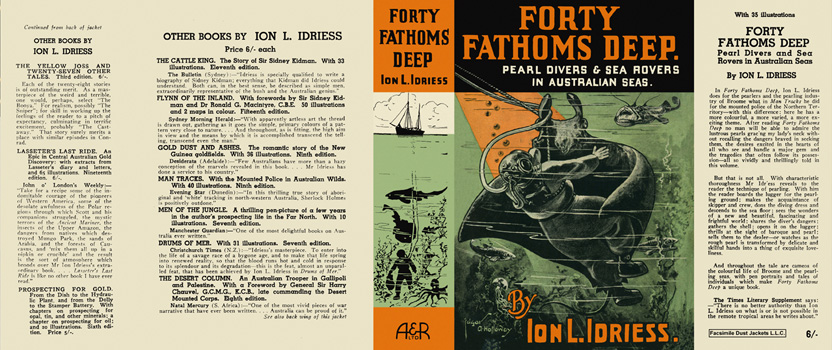 Forty Fathoms Deep. Ion L. Idriess
